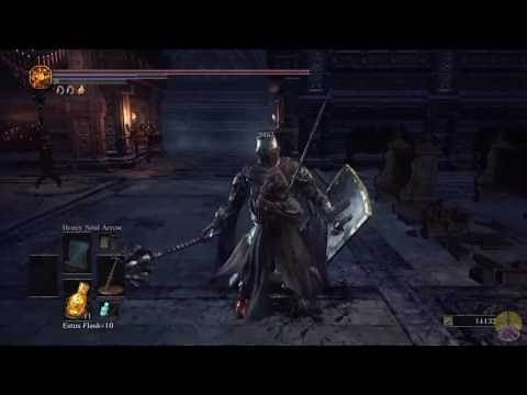 Dark Souls 3 Storm Ruler review/showcase