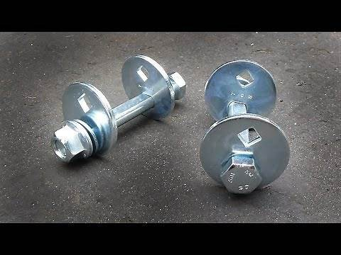 How to Install Camber Bolts