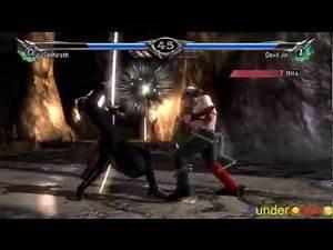 Soul Calibur 5 - Sephiroth vs Devil Jin