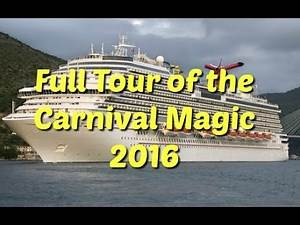 Carnival magic - Full tour 2017 - we tour the ship and talk about all the areas