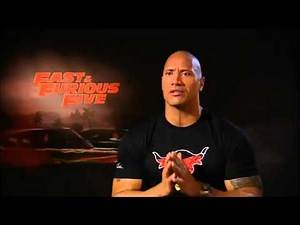 THE ROCK (Dwayne Johnson) Interview - The Expendables 3 (2014)