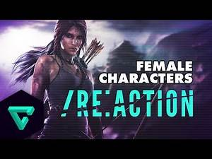 Female Video Game Characters : /re:Action