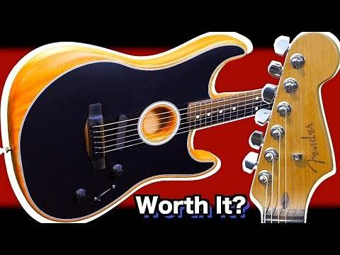 Is It REALLY Worth Buying One of These? | 2020 Fender Acoustasonic Stratocaster | Review Demo
