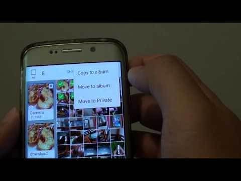 Samsung Galaxy S6 Edge: How to Copy / Move Photos to Different Album