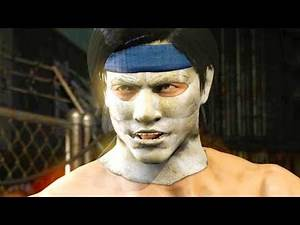 Mortal Kombat XL - Michael Myers Liu Kang Costume Mod Performs Intros On All Stages 4K Mods