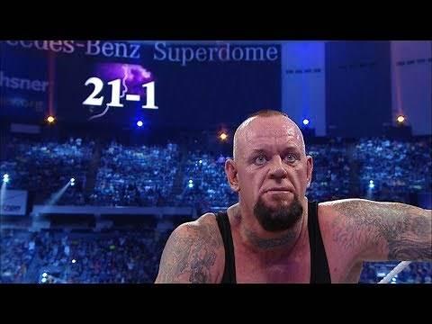 Director's cut of The Undertaker's Streak ending