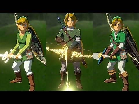 The Legend of Zelda: Breath of the Wild - All amiibo Exclusive Weapons & Armor Sets!   RasouliPlays