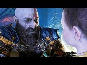 GOD OF WAR - Kratos gifts his knife to Atreus (full scene) (God of War 4 best moments)