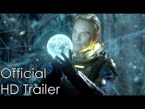 Prometheus (2012) HD Official Trailer #1 - Michael Fassbender & Charlize Theron