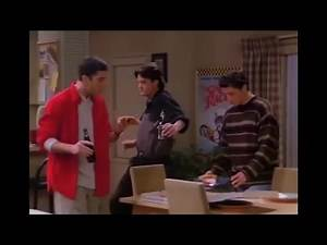 Ross, Chandler And Joey Dance Works With Any Song