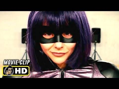 KICK-ASS 2 (2013) Hit Girl Dance Audition [HD] Chloe Moretz