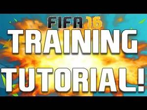 FIFA 16 - CAREER MODE TRAINING TUTORIAL! HOW TO GROW PLAYERS FAST!