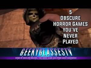 Top 5 Terrifying Horror Video Games you've Probably Never Played (The Obscure Review)