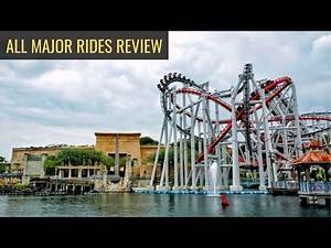 UNIVERSAL STUDIOS SINGAPORE All Major Rides Review 2020