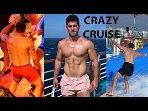 Surfing Fails And Men Dancing In Underwear - Crazy Miami To Bahamas Cruise