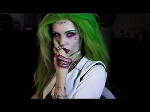 GRWM Genderbent Joker Tutorial - Suicide Squad Version