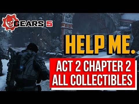Gears 5 : Into the Wild Collectibles Locations | Act 2 Chapter 2