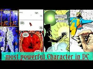 Top 5 most powerful characters in DC / marvel vs DC / fully explained / IN HINDI.