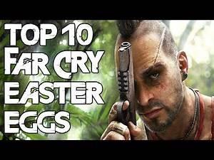 Top 10 Far Cry Series Easter Eggs & Secrets