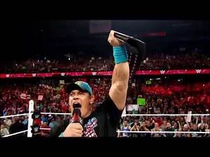 John Cena arrives at WWE Tough Enough tomorrow night