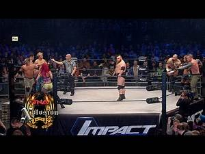 Xplosion Match: 8 Person Mixed Tag Team Match