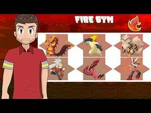 My Pokemon Team If I was a Gym Leader