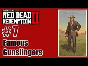 RDR2 - Famous Gunslingers – 07 Landon Ricketts - Cigarette Card – Türkçe – Tayperyum