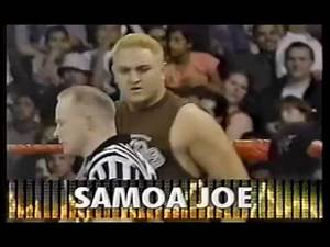 Samoa Joe (tryout) vs Essa Rios March 3 2001 WWF Metal WWE
