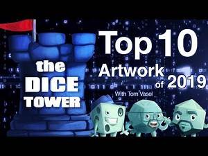 Top 10 Artwork of 2019 - with Tom Vasel