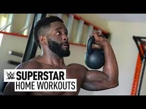 Cedric Alexander gets his sweat on: Superstar Home Workouts