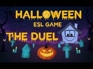 Halloween ESL Game - The Duel - To play in your class or at home!
