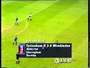 1992-93 FA CUP - Tottenham v Wimbledon