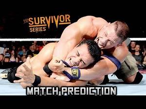 WWE SURVIVOR SERIES 2013: John Cena Vs Alberto Del Rio World Heavyweight - Match Prediction