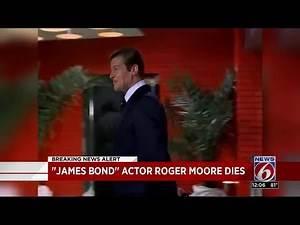 """James Bond"" actor Roger Moore dies"