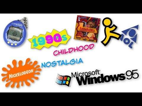 90s Childhood Throwbacks *NOSTALGIA*
