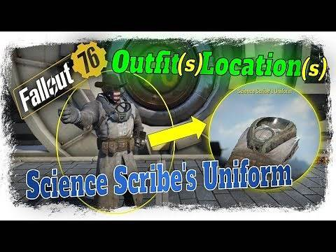 Fallout 76 Science Scribe s Uniform - How To Get it?
