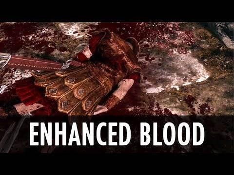 Skyrim Mod: Enhanced Blood Textures