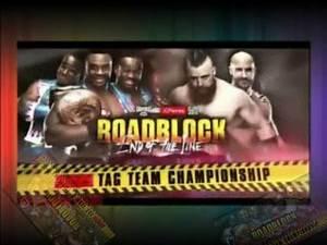 WWE RoadBlock Dec 18, 2016 : Countdown