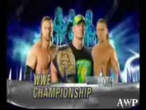 WWE PPV Survivor Series 2009 - Promo and Card Match