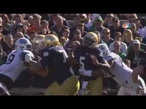 UNC Football: Rogers Sack & Forced Fumble Leads to Hood TD