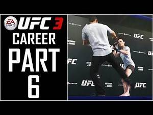 """EA Sports UFC 3 - Career (Female) - Let's Play - Part 6 - """"Prospect Contract"""" 