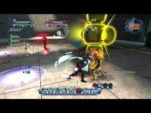 DC Universe Online Vs Yellow, Red & Green lanterns strongest