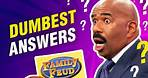 Dumbest answers ever on Family Feud! Steve Harvey is stunned!