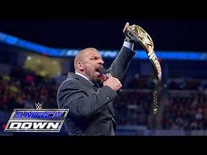 Triple H wird Roman Reigns bei WrestleMania zum Heulen bringen: SmackDown, 25. Februar 2016