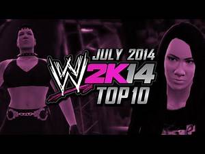 WWE 2K14 Top 10 Divas (July 2014)