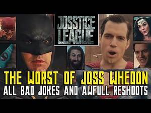 Joss Whedon´s Justice League - THE WORST - ALL BAD JOKES - NO Zack Snyder