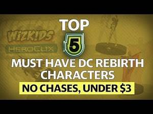 Top 5 DC Rebirth Characters