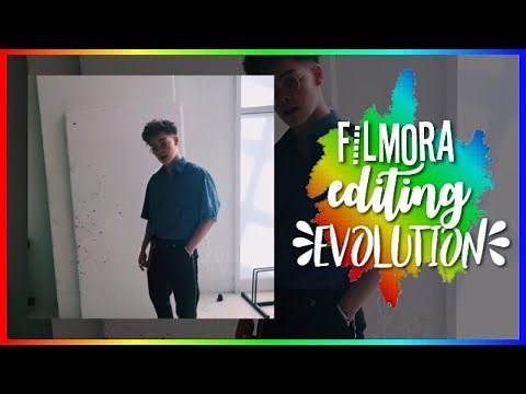 editing evolution // filmora