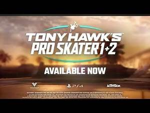 Tony Hawk's Pro Skater 1 & 2 Online Multiplayer PS4 Gameplay