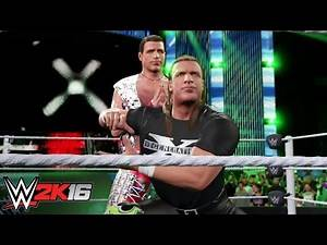 Lucha D-Generation X springs into action: WWE 2K16 Entrance Mashups